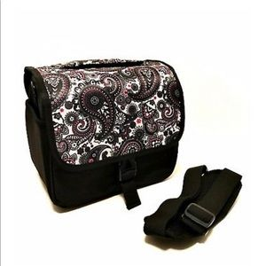 Handbags - Black Paisley DSLR Camera Bag